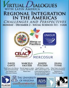 """Conferencia """"Integración Regional en las Américas: retos y perspectivas"""""""