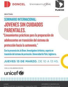 Jovenes sin ciudados parentales