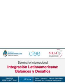 Seminario Internacional Integración Latinoamericana