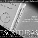 Escrituras Creatividad Humana y Comunicacion