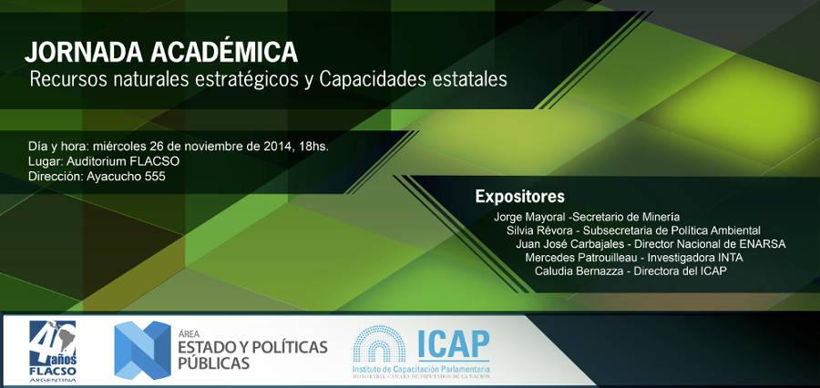 """""""Recursos naturales estratégicos, Desarrollo inclusivo y Medio Ambiente""""."""