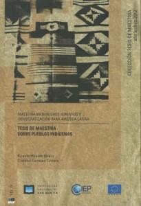 Tesis de maestria sobre pueblos indigenas  L.17.426