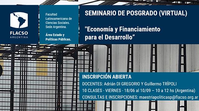 Economía y financiamiento para el desarrollo