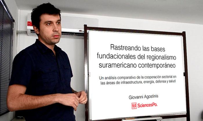 Intercambios Internacionales - Giovanni Agostinis