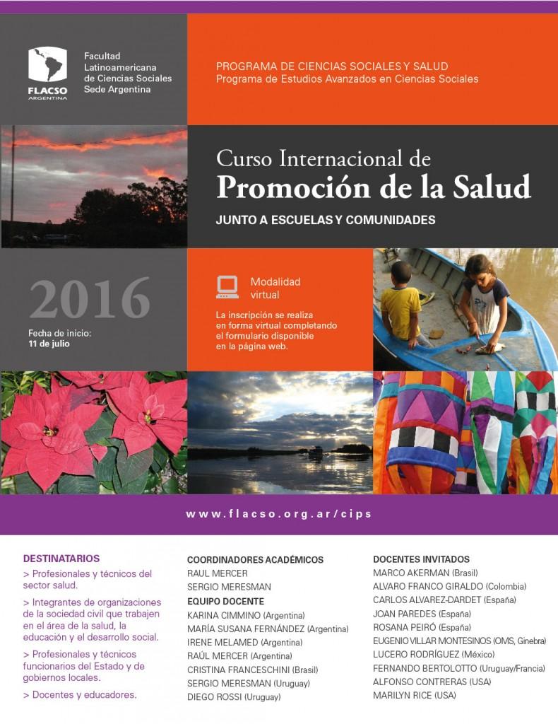 Promoción de la Salud (CIPS) junto a Escuelas y Comunidades