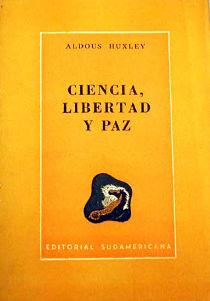 Ciencia libertad y paz