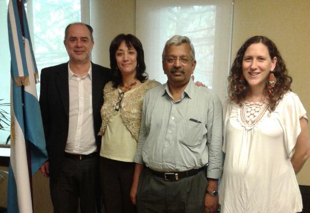 Dr. Jayaraman en Flacso  - 003