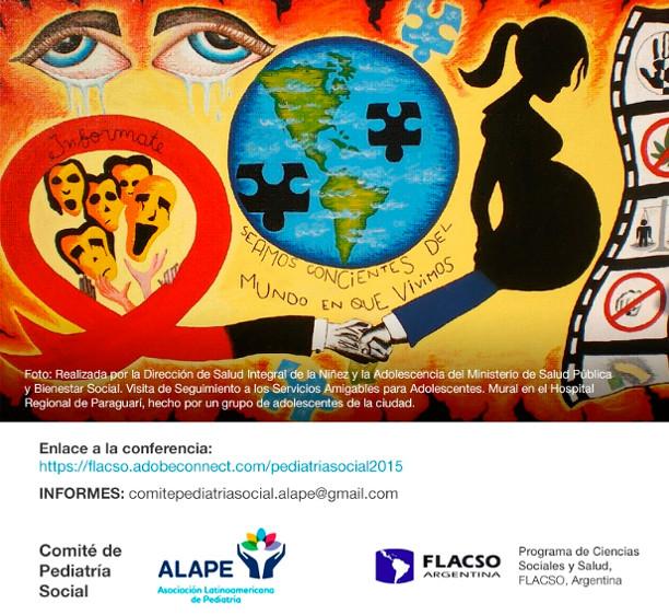 Conferencia Virtual: El derecho a la salud sexual y reproductiva de los niños, niñas y adolescentes