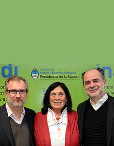 Firma convenio INADI CIPDH y FLACSO