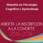 Maestría en Psicología Cognitiva y Aprendizaje