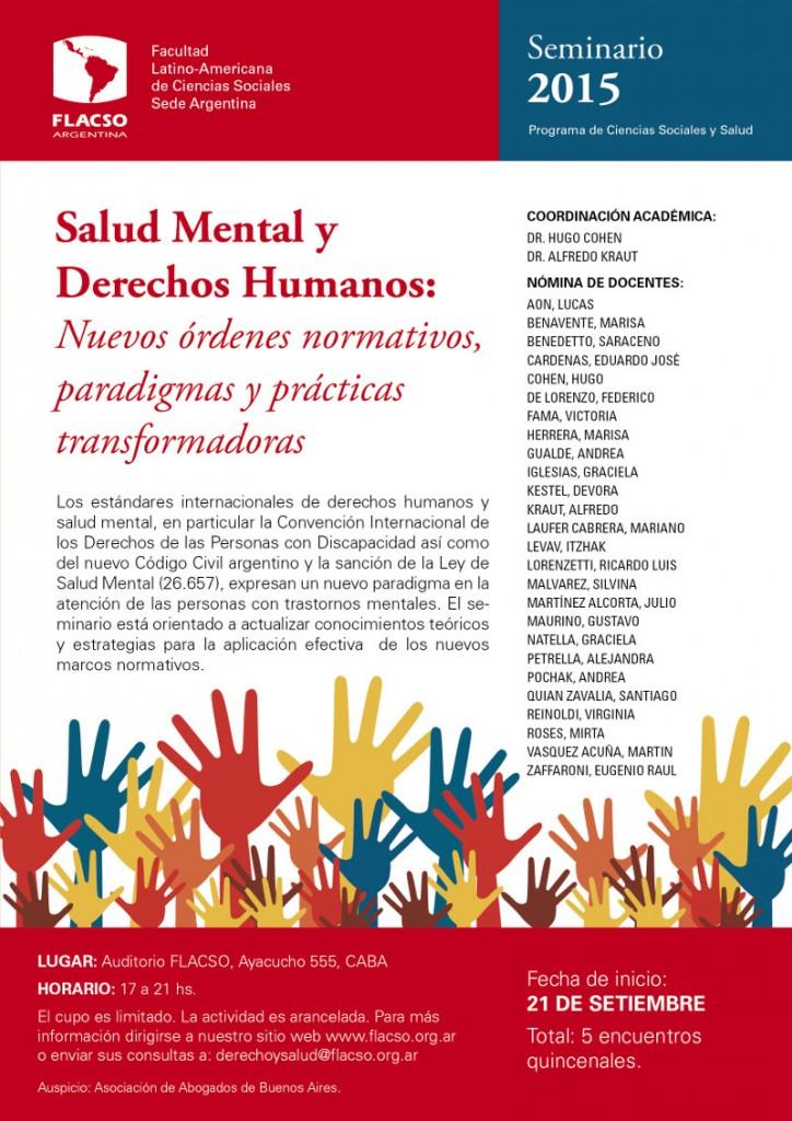 Seminario: Salud Mental y Derechos Humanos