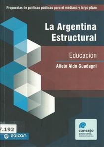 Educacion. La Argentina estructural