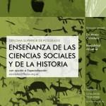 Diploma Enseñanza de las Ciencias Sociales y de la Historia
