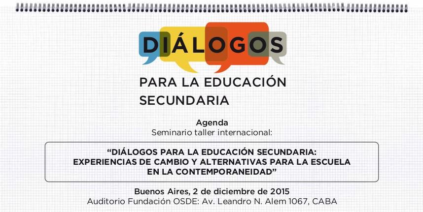 Dialogos para la educacion -flacso-unicef