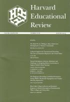 Harvard educational review