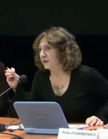 Conferencia de Perla Zelmanovich en la Universidad Paris Diderot