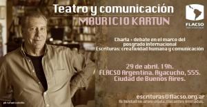 Teatro y Comunicación por Mauricio Kartun