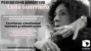 Periodismo narrativo con Leila Guerriero