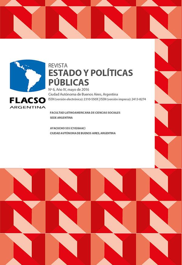 Revista Estado y Políticas Públicas.