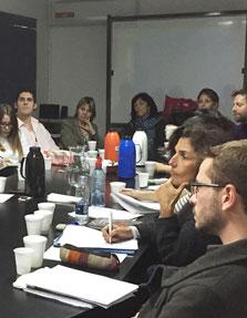 """Seminario – Discusión: """"Auge y declive de la gobernanza regional en América del Sur: una mirada desde la geopolítica""""."""