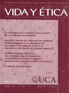 Vida y ética: publicación del Instituto de Bioética