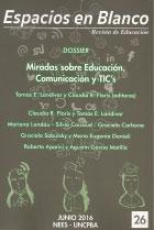 Espacios en blanco : revista de educación. Serie indagaciones