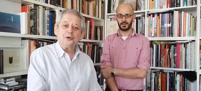 Martín Baña y Hugo Petruschansky