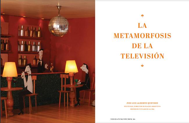 """""""La metamorfosis de la TV"""""""