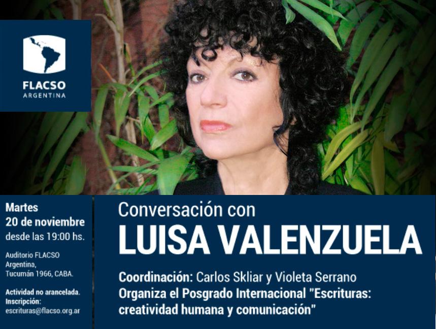 Conversación con Luisa Valenzuela