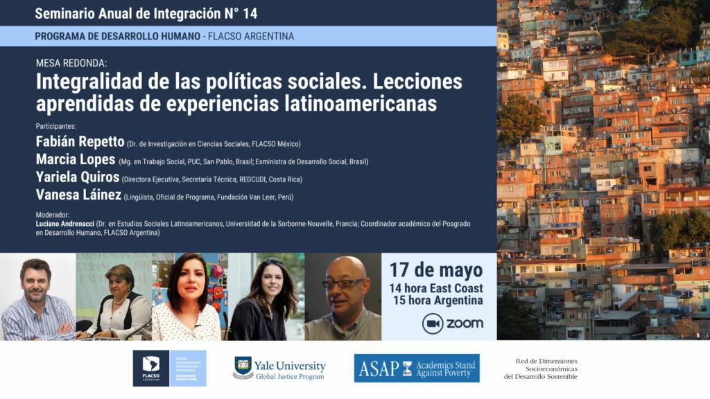 Integralidad de las políticas sociales. Lecciones aprendidas de experiencias latinoamericanas