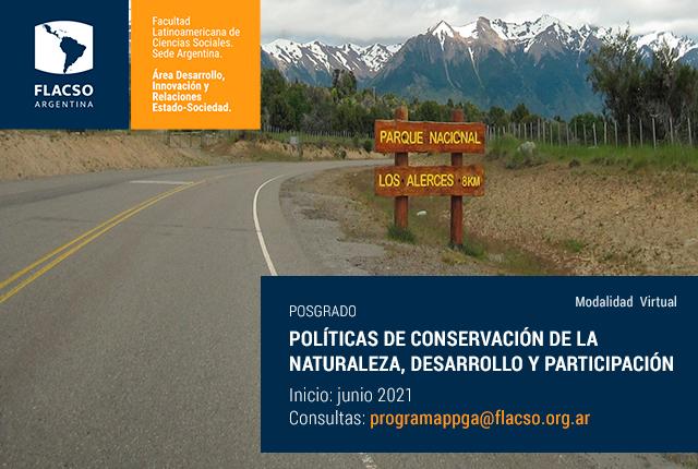 Políticas de conservación de la naturaleza, desarrollo y participación