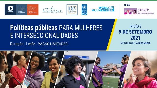 Políticas públicas para mulheres e interseccionalidades